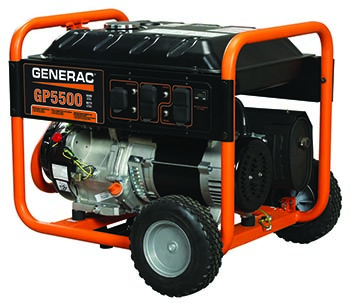 Generac GP Series Model 5939 5500 watt